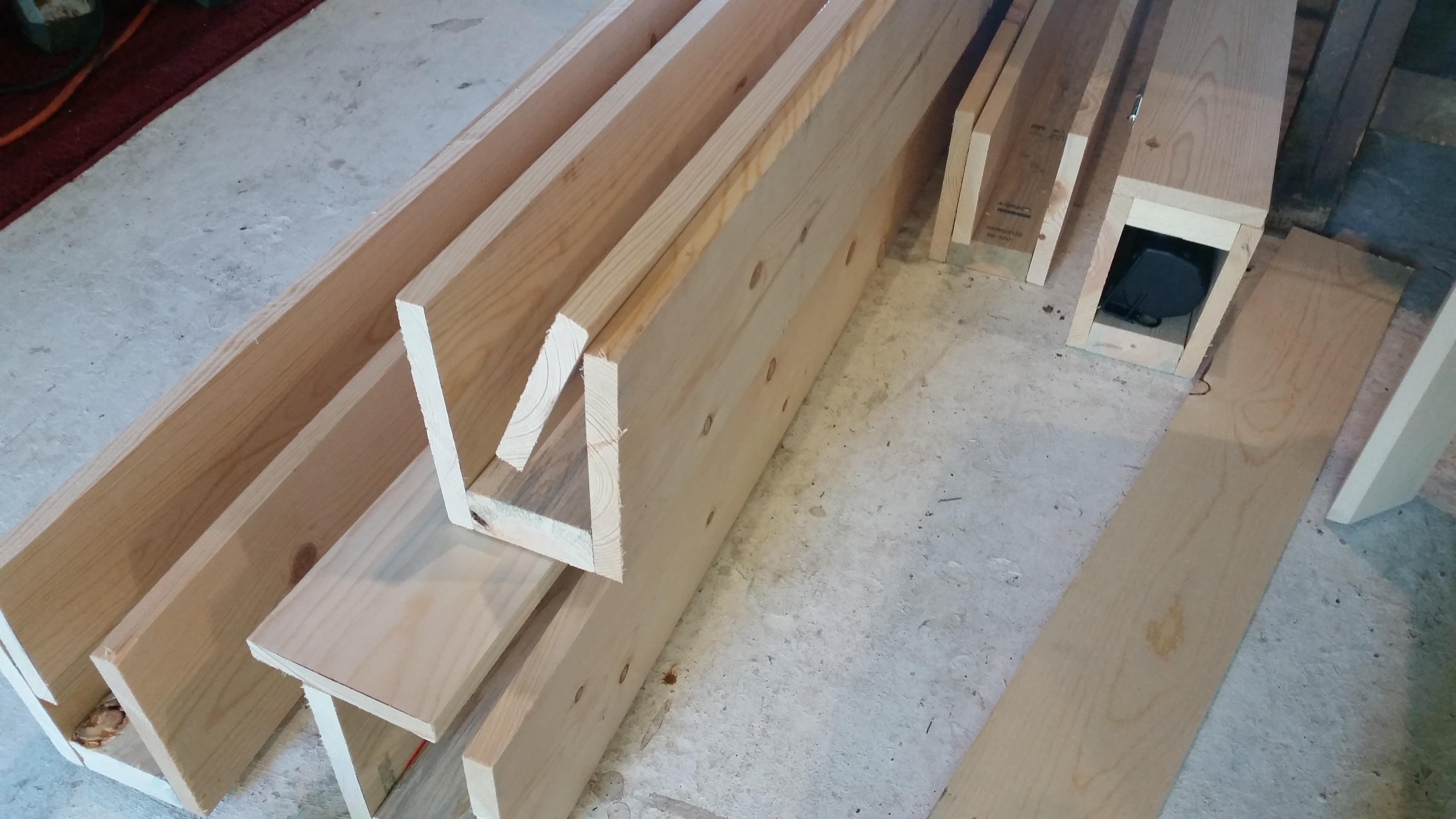 Diy Wood Ceiling Beams Leah And Joe Home Diy Projects