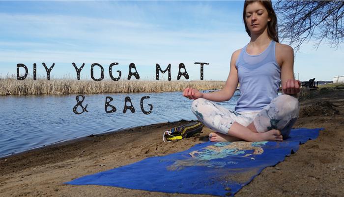Diy Yoga Mat Bag Leah And Joe Home Diy Projects Crafts